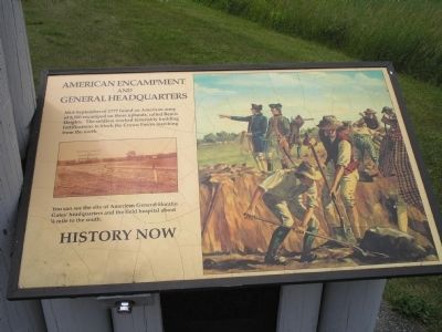 American Encampment and General Headquarters Marker image. Click for full size.