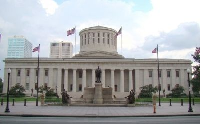 William McKinley Monument at the Ohio State House image. Click for full size.