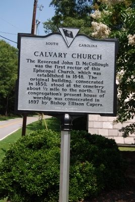 Calvary Church Marker image. Click for full size.