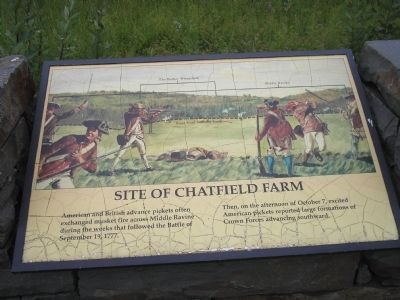 Site of Chatfield Farm Marker image. Click for full size.