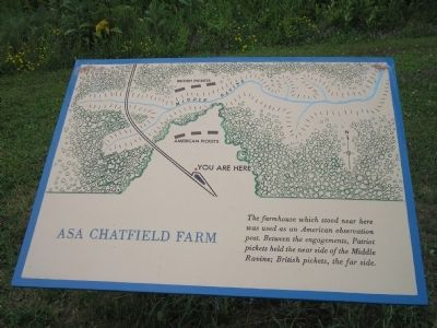 Asa Chatfield Farm Marker image. Click for full size.