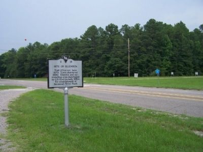 Site of Ellenton Marker at image. Click for full size.