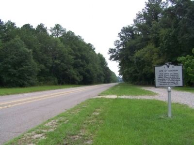 Site of Ellenton Marker, looking southbound image. Click for full size.