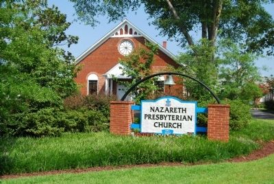 Nazareth Presbyterian Church image. Click for full size.