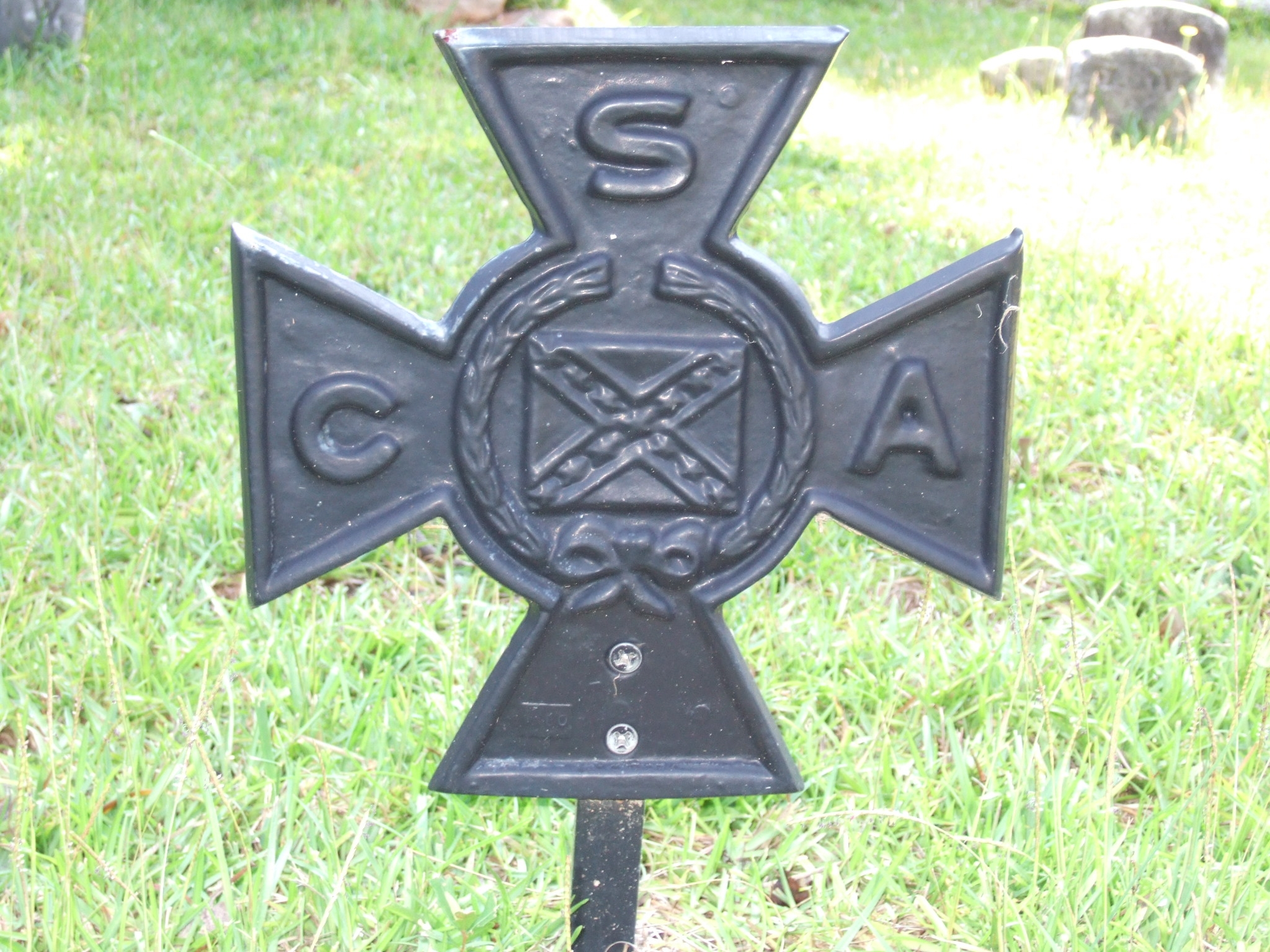 CSA Soldier Marker Rear view