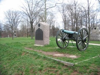 Battery I First U.S. Artillery Tablet and Battery Postion image. Click for full size.