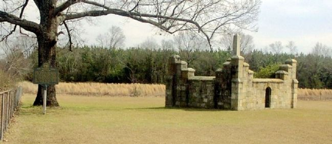 Gov. Troup's Tomb and Marker image, Touch for more information