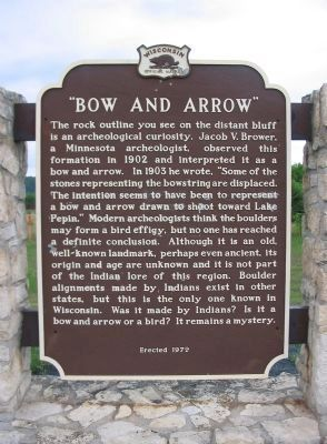 """Bow and Arrow"" Marker image. Click for full size."