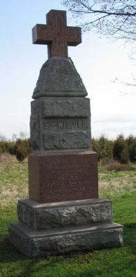 5th Wisconsin Volunteers Monument image. Click for full size.