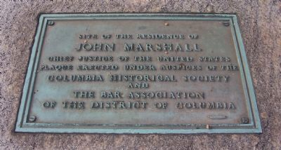 John Marshall Marker image. Click for full size.
