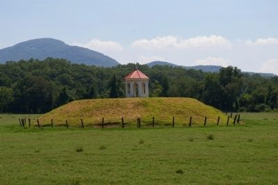 Nacoochee Indian Mound image. Click for full size.