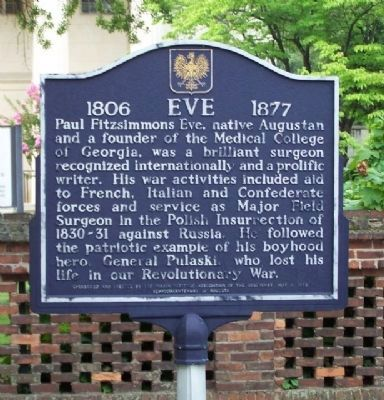 Eve 1806 - 1877 Marker image. Click for full size.