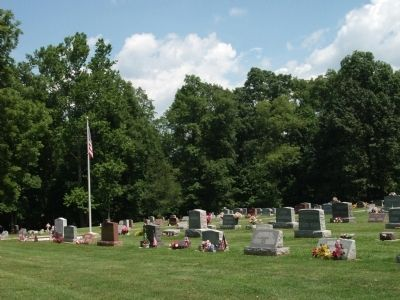 Phanuel Lutheran Cemetery - - In Church Front Yard image. Click for full size.