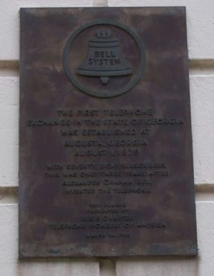 Bell System Marker image. Click for full size.