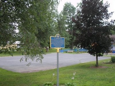 Site of Burgoyne's Surrender image. Click for full size.