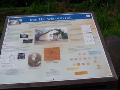 Iron Hill School #112C Marker image. Click for full size.