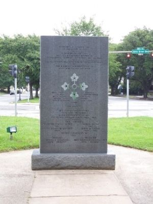 4th Infantry ( Ivy ) Division Marker,West face image. Click for full size.