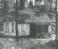 Original Beech Island<br>Agricultural Club House<br>Burned in 1967 image. Click for full size.