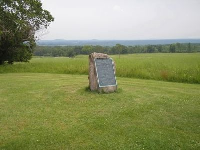 Marker on Bemis Heights image. Click for full size.