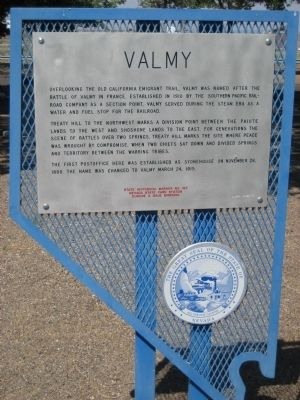 Valmy Marker image. Click for full size.