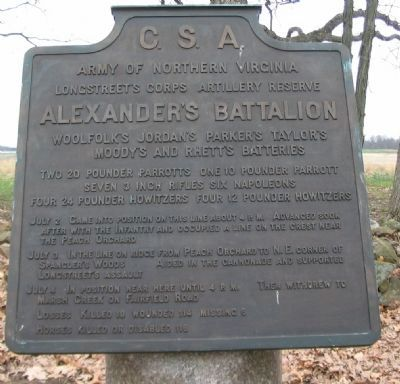 Alexander's Battalion Tablet image. Click for full size.