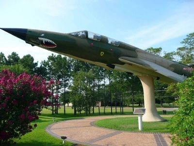 Republic F-105 Thunderchief Marker image. Click for full size.