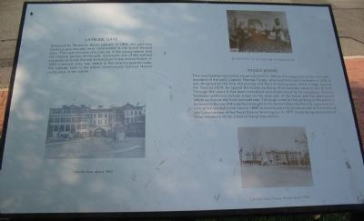 Latrobe Gate / Tingey House Marker image. Click for full size.