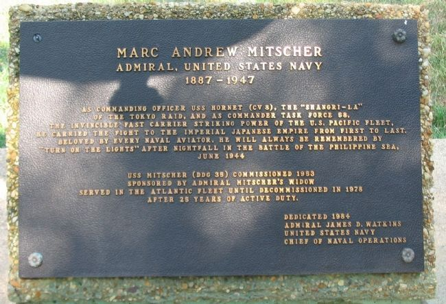 Marc Andrew Mitscher, Admiral United States Navy, 1887-1947 image. Click for full size.