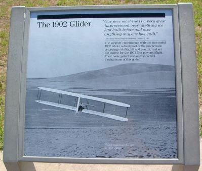 The 1902 Glider Marker image. Click for full size.