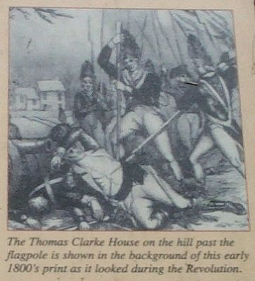 The Thomas Clarke House on the hill image. Click for full size.