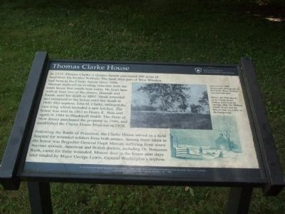 Thomas Clarke House Marker image. Click for full size.