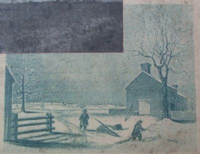 An 1849 sketch of the Clarke House image. Click for full size.