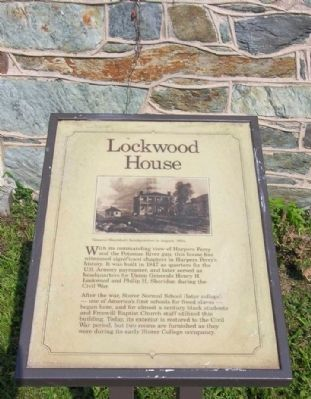 Lockwood House Marker image. Click for full size.