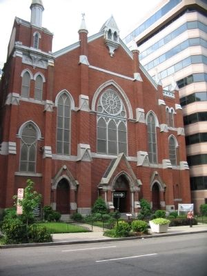 Metropolitan African Methodist Episcopal Church image. Click for full size.