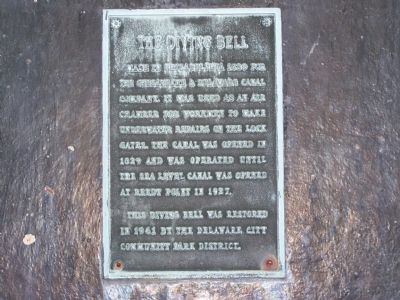 The Diving Bell Marker image. Click for full size.