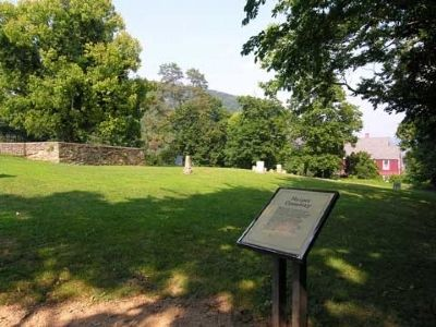 Harper Cemetery and Marker image. Click for full size.
