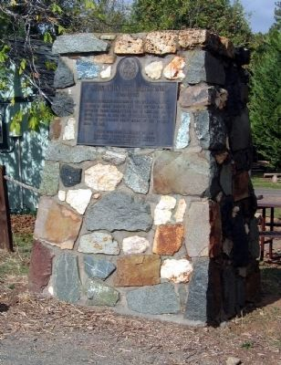 Second Garrote Mark Twain Bret Harte Trail Marker image. Click for full size.
