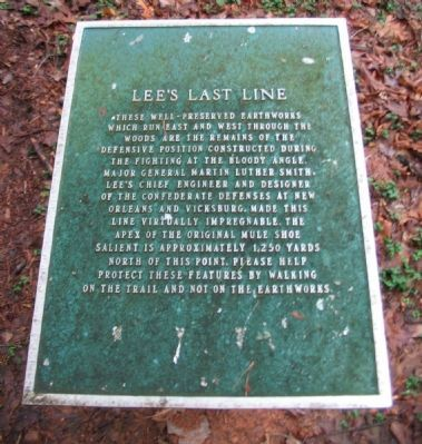 Lee's Last Line Marker image. Click for full size.
