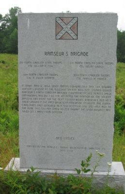 Ramseur's Brigade Monument image. Click for full size.