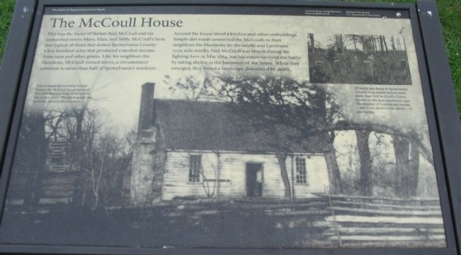 The McCoull House Marker image. Click for full size.