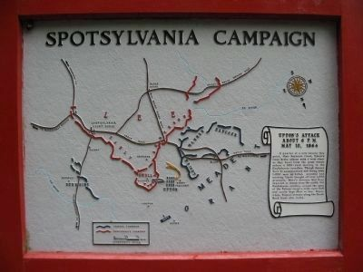 Spotsylvania Campaign Map image. Click for full size.