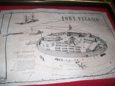 Fort Velasco Sketch image. Click for full size.