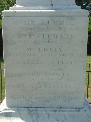 Right (North) Side of  Marker image. Click for full size.