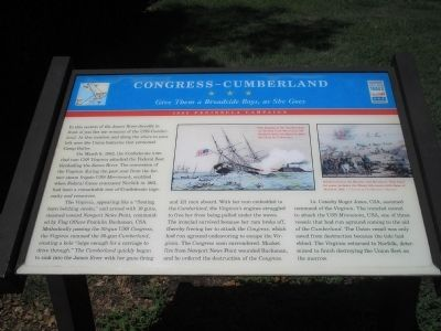 Congress – Cumberland Marker image. Click for full size.