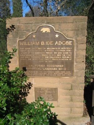 William B. Ide Adobe Marker image. Click for full size.