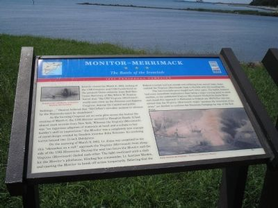 Monitor – Merrimack Marker image. Click for full size.