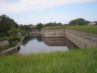 Fort Monroe image. Click for full size.