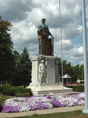 World War I Memorial - - Danville, Illinois Marker image. Click for full size.
