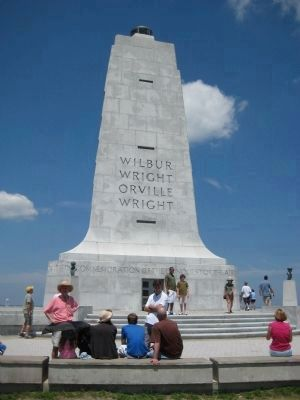 Wright Brothers National Memorial image. Click for full size.