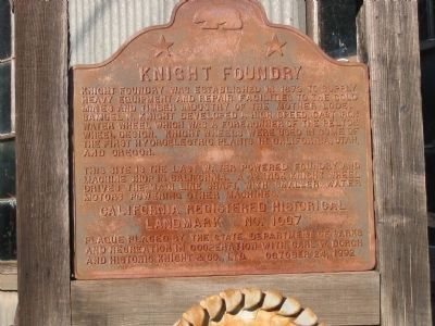 Knight Foundry Marker image. Click for full size.
